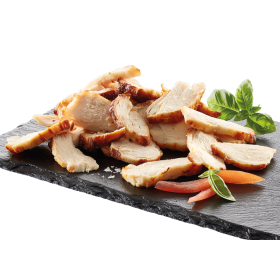Top Table Roasted Chicken Fillet 5mm slices 2.5kg Euro Poultry