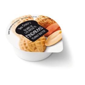 Pindakaas porties cups 80x10gr Van Oordt