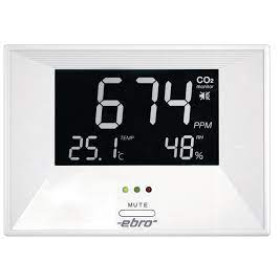 Room Climate Monitor CO2 meter RM100 Ebro