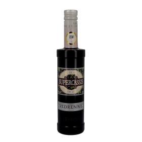 Vedrenne Supercassis Creme de Cassis 50cl 20% Blackcurrant Liqueur